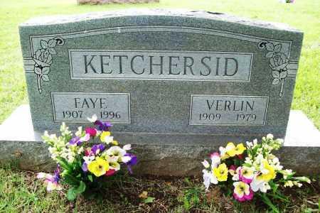 KETCHERSID, FAYE - Benton County, Arkansas | FAYE KETCHERSID - Arkansas Gravestone Photos