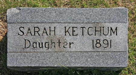 KETCHUM, SARAH - Benton County, Arkansas | SARAH KETCHUM - Arkansas Gravestone Photos