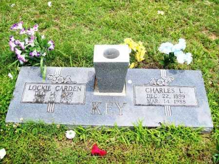 KEY, LOCKIE ELIZABRTH - Benton County, Arkansas | LOCKIE ELIZABRTH KEY - Arkansas Gravestone Photos