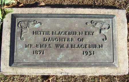 KEY, HETTIE - Benton County, Arkansas | HETTIE KEY - Arkansas Gravestone Photos