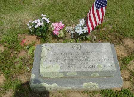 KEY (VETERAN WWI), OTTIS CLEORA - Benton County, Arkansas | OTTIS CLEORA KEY (VETERAN WWI) - Arkansas Gravestone Photos