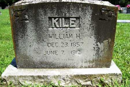 KILE, WILLIAM H. - Benton County, Arkansas | WILLIAM H. KILE - Arkansas Gravestone Photos