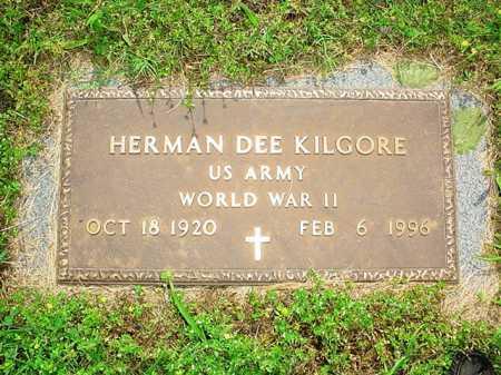 KILGORE (VETERAN WWII), HERMAN DEE - Benton County, Arkansas | HERMAN DEE KILGORE (VETERAN WWII) - Arkansas Gravestone Photos