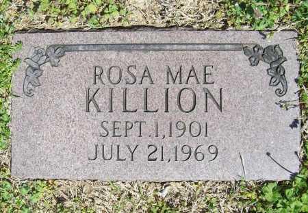 KILLION, ROSA MAE - Benton County, Arkansas | ROSA MAE KILLION - Arkansas Gravestone Photos