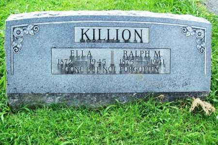 KILLION, ELLA - Benton County, Arkansas | ELLA KILLION - Arkansas Gravestone Photos