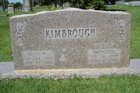 KIMBROUGH, IMOGENE N - Benton County, Arkansas | IMOGENE N KIMBROUGH - Arkansas Gravestone Photos