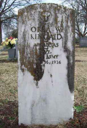 KINCAID (VETERAN WWI), ORLA W - Benton County, Arkansas   ORLA W KINCAID (VETERAN WWI) - Arkansas Gravestone Photos