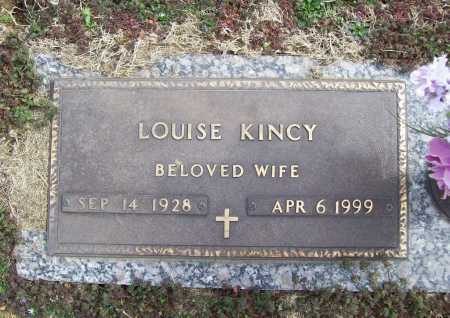 KINCY, LOUISE - Benton County, Arkansas   LOUISE KINCY - Arkansas Gravestone Photos