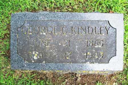 KINDLEY, GEORGE C. - Benton County, Arkansas   GEORGE C. KINDLEY - Arkansas Gravestone Photos