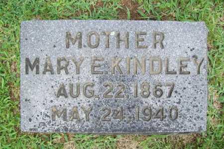KINDLEY, MARY E. - Benton County, Arkansas | MARY E. KINDLEY - Arkansas Gravestone Photos