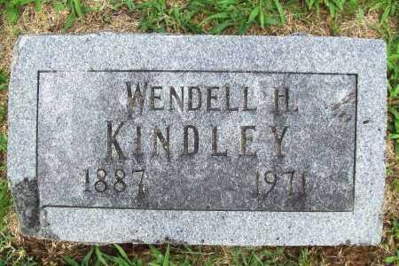 KINDLEY, WENDELL H. - Benton County, Arkansas | WENDELL H. KINDLEY - Arkansas Gravestone Photos