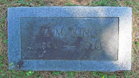 KING, GEORGE M - Benton County, Arkansas | GEORGE M KING - Arkansas Gravestone Photos