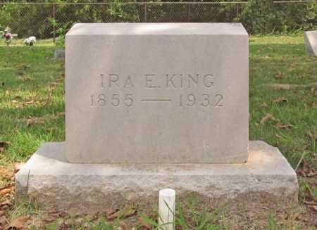 KING, IRA E - Benton County, Arkansas | IRA E KING - Arkansas Gravestone Photos