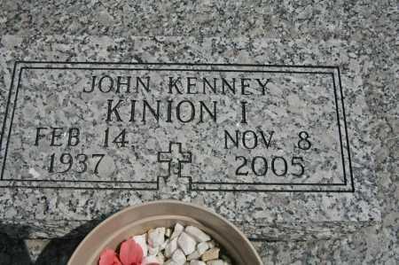 KINION, JOHN KENNEY I - Benton County, Arkansas | JOHN KENNEY I KINION - Arkansas Gravestone Photos