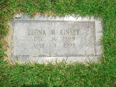 KINSEY, LEONA M. - Benton County, Arkansas   LEONA M. KINSEY - Arkansas Gravestone Photos