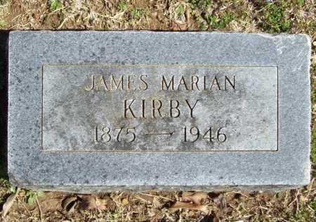KIRBY, JAMES MARIAN - Benton County, Arkansas | JAMES MARIAN KIRBY - Arkansas Gravestone Photos