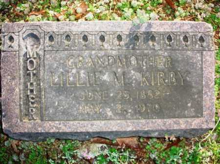KIRBY, LILLIE M. - Benton County, Arkansas | LILLIE M. KIRBY - Arkansas Gravestone Photos