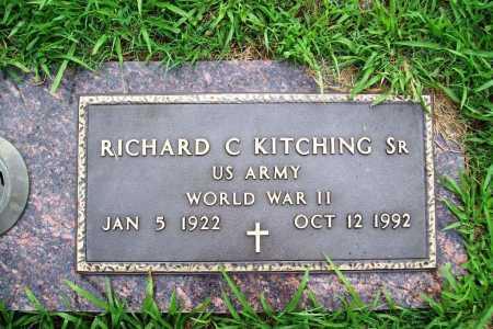 KITCHING (VETERAN WWII), RICHARD C. SR. - Benton County, Arkansas | RICHARD C. SR. KITCHING (VETERAN WWII) - Arkansas Gravestone Photos