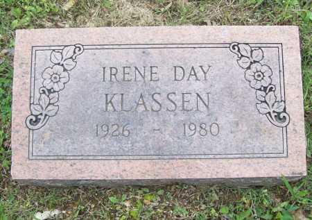DAY KLASSEN, IRENE - Benton County, Arkansas | IRENE DAY KLASSEN - Arkansas Gravestone Photos