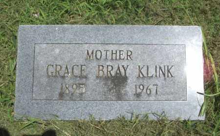 BRAY KLINK, GRACE - Benton County, Arkansas   GRACE BRAY KLINK - Arkansas Gravestone Photos