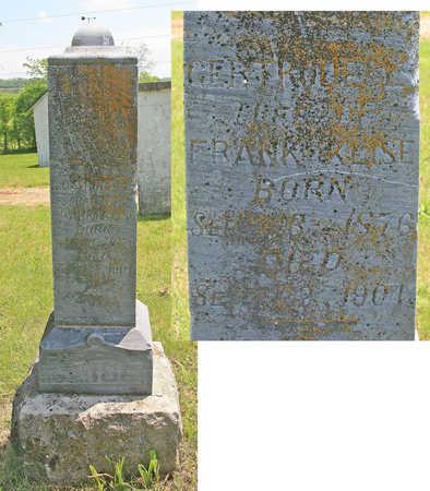 KLISE, GERTRUDE L - Benton County, Arkansas | GERTRUDE L KLISE - Arkansas Gravestone Photos