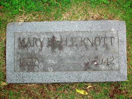 KNOTT, MARY BELLE - Benton County, Arkansas | MARY BELLE KNOTT - Arkansas Gravestone Photos