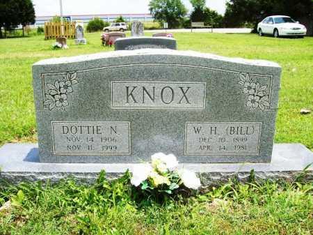 KNOX, DOTTIE N. - Benton County, Arkansas | DOTTIE N. KNOX - Arkansas Gravestone Photos