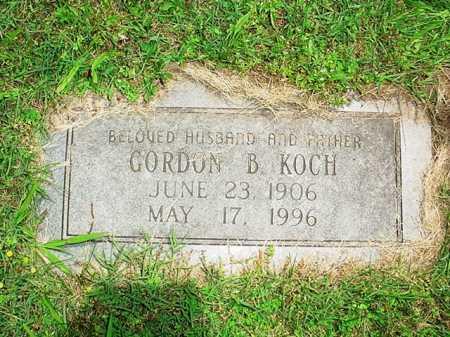 KOCH, GORDON B. - Benton County, Arkansas   GORDON B. KOCH - Arkansas Gravestone Photos