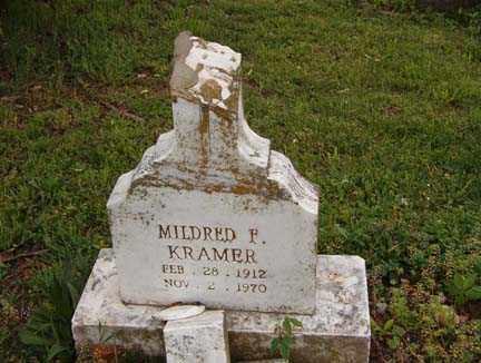 KRAMER, MILDRED F. - Benton County, Arkansas | MILDRED F. KRAMER - Arkansas Gravestone Photos