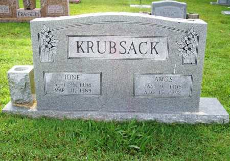 KRUBSACK, IONE - Benton County, Arkansas | IONE KRUBSACK - Arkansas Gravestone Photos