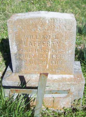LAFFERTY (VETERAN), WILLIAM L - Benton County, Arkansas | WILLIAM L LAFFERTY (VETERAN) - Arkansas Gravestone Photos