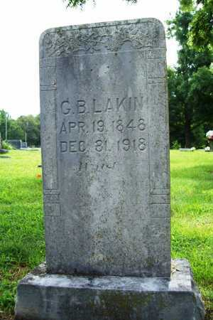LAKIN, GEORGE B - Benton County, Arkansas | GEORGE B LAKIN - Arkansas Gravestone Photos