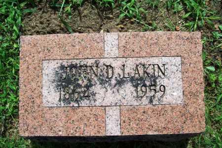 LAKIN, JOHN D. - Benton County, Arkansas | JOHN D. LAKIN - Arkansas Gravestone Photos