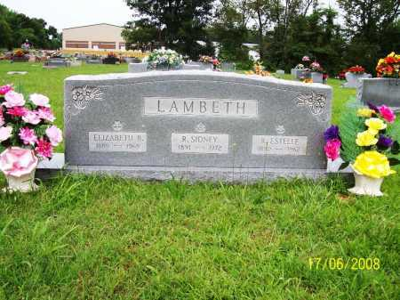 LAMBETH, RACHEL ESTELLE - Benton County, Arkansas | RACHEL ESTELLE LAMBETH - Arkansas Gravestone Photos