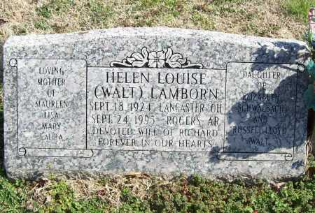 LAMBORN, HELEN LOUISE - Benton County, Arkansas | HELEN LOUISE LAMBORN - Arkansas Gravestone Photos