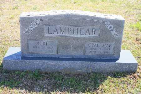 LAMPHEAR, BURL - Benton County, Arkansas | BURL LAMPHEAR - Arkansas Gravestone Photos