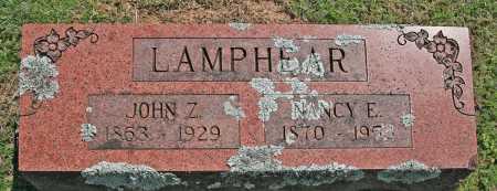 LAMPHEAR, JOHN Z. - Benton County, Arkansas   JOHN Z. LAMPHEAR - Arkansas Gravestone Photos