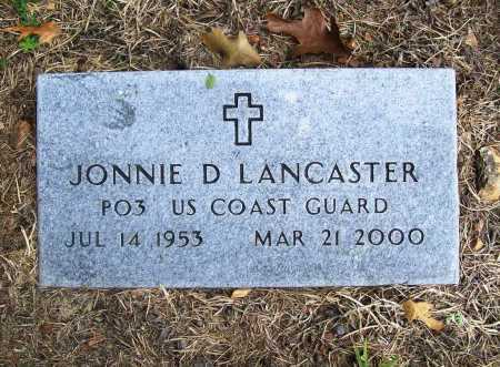 LANCASTER (VETERAN), JONNIE D - Benton County, Arkansas | JONNIE D LANCASTER (VETERAN) - Arkansas Gravestone Photos