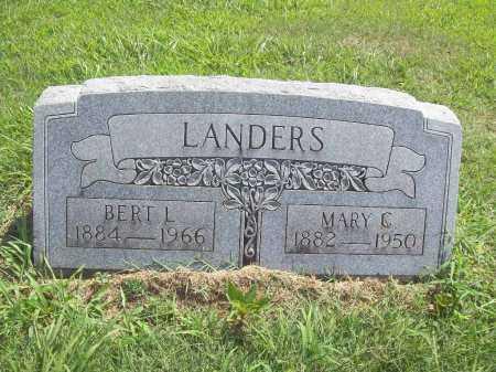LANDERS, MARY  C - Benton County, Arkansas | MARY  C LANDERS - Arkansas Gravestone Photos