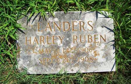 LANDERS, HARLEY RUBEN - Benton County, Arkansas   HARLEY RUBEN LANDERS - Arkansas Gravestone Photos