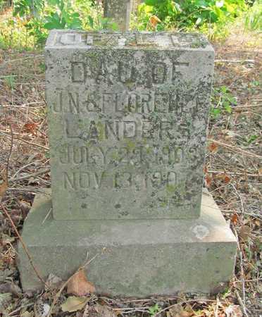 LANDERS, OPEL L - Benton County, Arkansas   OPEL L LANDERS - Arkansas Gravestone Photos