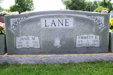 LANE, JANIE M. - Benton County, Arkansas | JANIE M. LANE - Arkansas Gravestone Photos