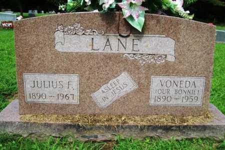 LANE, JULIUS F. - Benton County, Arkansas | JULIUS F. LANE - Arkansas Gravestone Photos