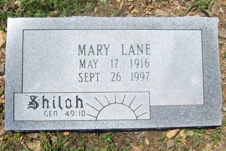 LANE, MARY - Benton County, Arkansas | MARY LANE - Arkansas Gravestone Photos