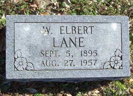 LANE, W. ELBERT - Benton County, Arkansas | W. ELBERT LANE - Arkansas Gravestone Photos