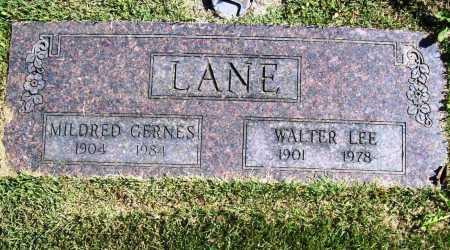 LANE, WALTER LEE - Benton County, Arkansas | WALTER LEE LANE - Arkansas Gravestone Photos