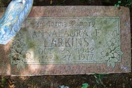 LARKINS, ANNA LAURA F. - Benton County, Arkansas   ANNA LAURA F. LARKINS - Arkansas Gravestone Photos