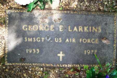 LARKINS (VETERAN), GEORGE EDWARD - Benton County, Arkansas   GEORGE EDWARD LARKINS (VETERAN) - Arkansas Gravestone Photos