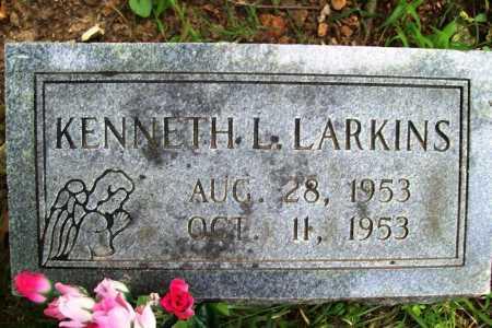 LARKINS, KENNETH L. - Benton County, Arkansas   KENNETH L. LARKINS - Arkansas Gravestone Photos