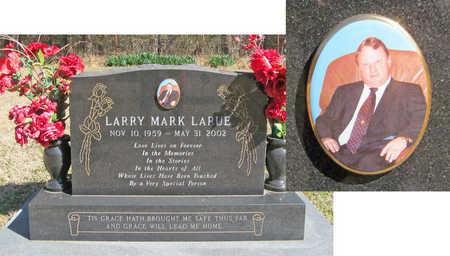 LARUE, LARRY MARK - Benton County, Arkansas   LARRY MARK LARUE - Arkansas Gravestone Photos